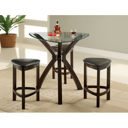 Enitial Lab 4 Piece Counter Height Dining Set