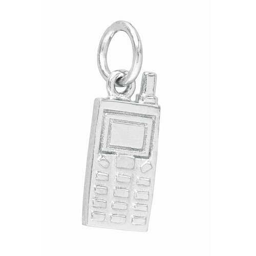 EZ Charms 1.6 Grams Sterling Silver Cell Phone Charm