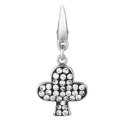 Crystal Club Charm with Swarovski Elements