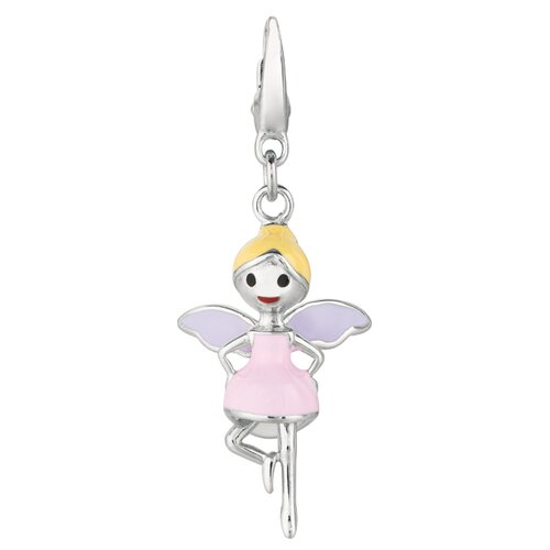 EZ Charms Sterling Silver Fairy Charm