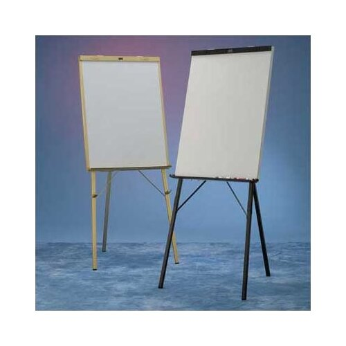 Draper DR Series Black Epoxy with Powdercoat Whiteboard Easel