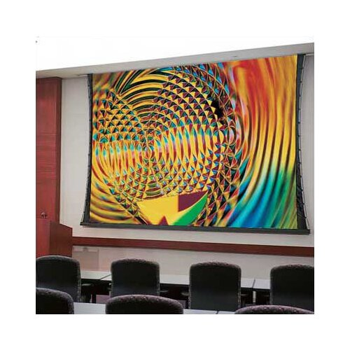 "Draper Access Series V Matte White 135"" Electric Projection Screen with Low Voltage Motor"