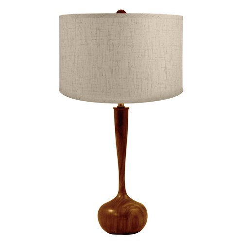 Lamp Works Wood Tulip Table Lamp