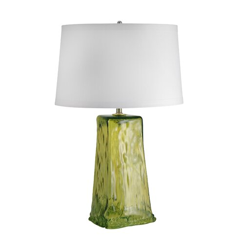 "Lamp Works Wave 28"" H Table Lamp with Empire Shade"