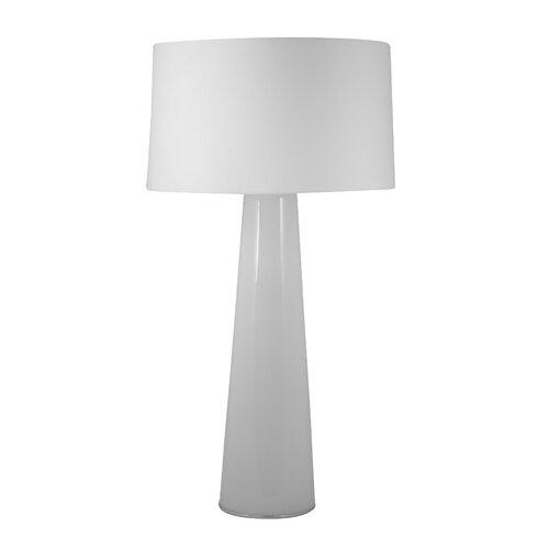 """Lamp Works Obelisk 36"""" H Table Lamp with Drum Shade"""