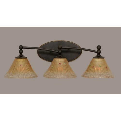 Toltec Lighting Capri 3 Light Bath Vanity Light