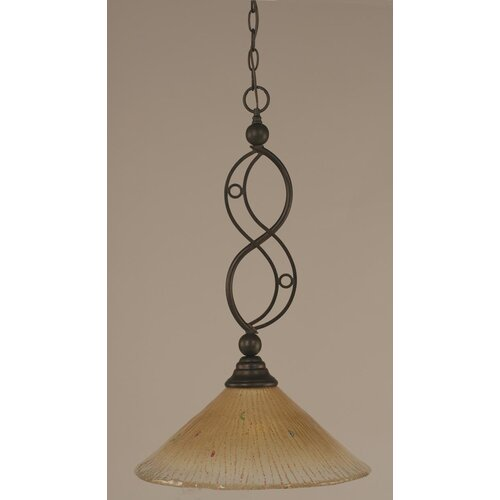 Jazz 1 Light Downlight Pendant