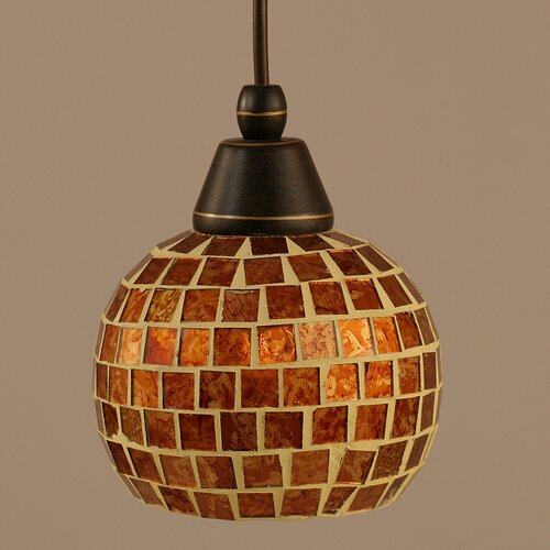 Toltec Lighting Cord Mini Pendant