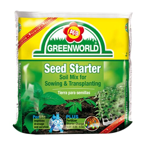 ASB Greenworld Seed Starter Potting Soil (6/Box)