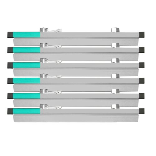 """Adir Corp 18"""" Blueprint File Hanging Clamps (Pack of 6)"""
