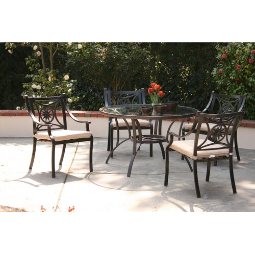 AIC Garden & Casual Star 5 Piece Dining Set