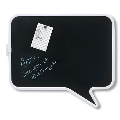 "Umbra Talk 1'3"" x 1'5"" Chalk Board"