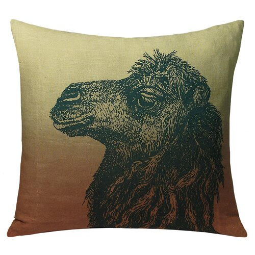 Kevin O'Brien Studio Camel Decorative Pillow
