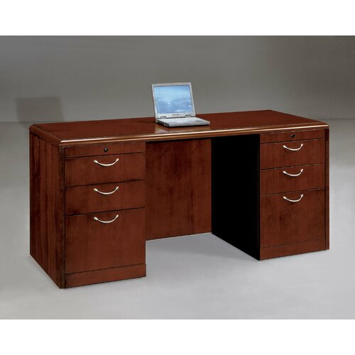 DMI Office Furniture Summit Cope Executive Bow Front Credenza