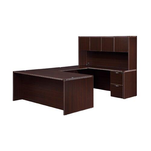"DMI Office Furniture Fairplex Right/Left ""U"" Executive Desk"