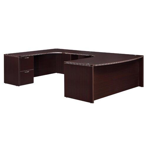 "DMI Office Furniture Fairplex Executive Work Station ""U"" Desk"