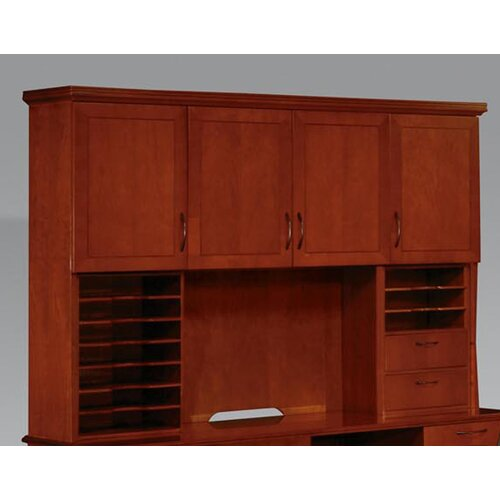 "DMI Office Furniture Belmont 50"" H x 74.5"" W Desk Hutch with Organizers"