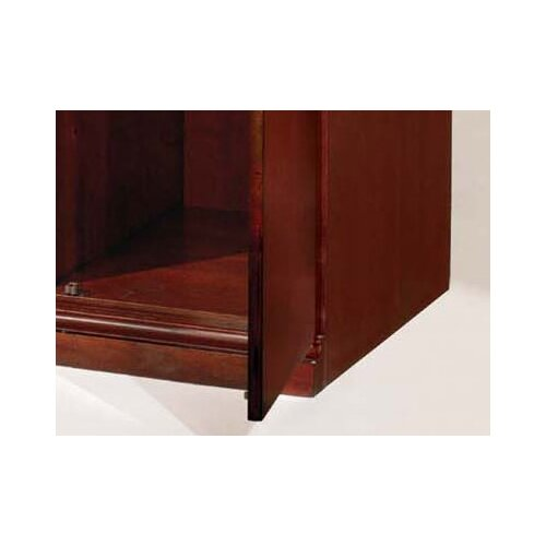 "DMI Office Furniture Del Mar 33.75"" Double Door Storage Wardrobe Cabinet"