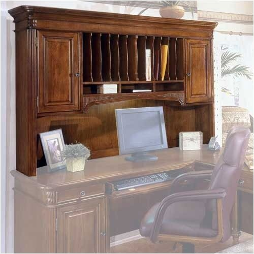 "DMI Office Furniture Antigua 46.5"" H x 69"" W Desk Hutch"