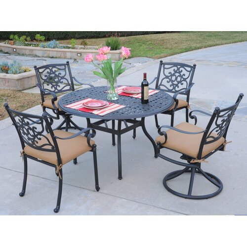 Meadow Decor Kingston 5 Piece Dining Set