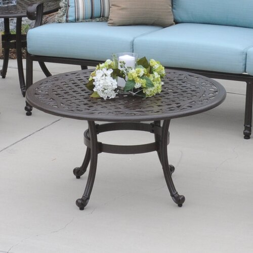 Meadow decor kingston coffee table reviews wayfair for Wayfair outdoor coffee table