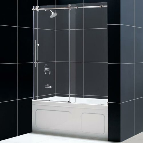 Dreamline Enigma Fully Frameless Sliding Tub Door