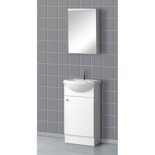 "Dreamline 18.5"" Floor Standing Bathroom Vanity Set"