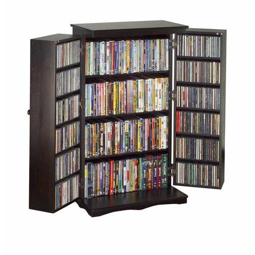 Leslie Dame Enterprises 612 Series Multimedia Storage Cabinet