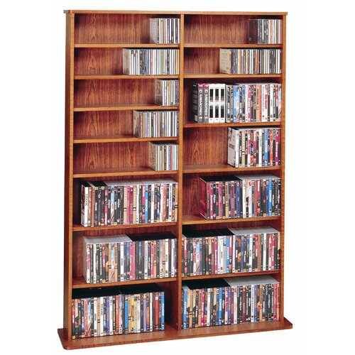 Leslie Dame Enterprises Deluxe Multimedia Storage Rack