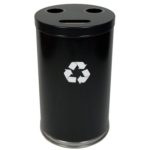Witt Metal Recycling Three Opening Multi Compartment Recycling Bin