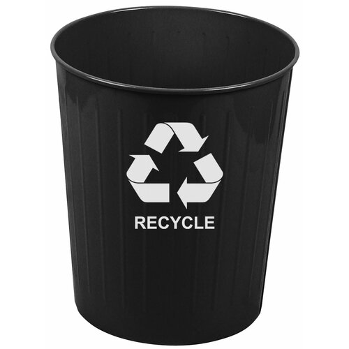 Witt Metal Recycling 26 Qt. Recycling Waste Basket