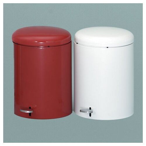 Witt Metal Series 4 Gallon Step-On Trash Can withGalvanized Liner