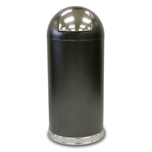 Witt Dome Top Waste Receptacle  with Push Door