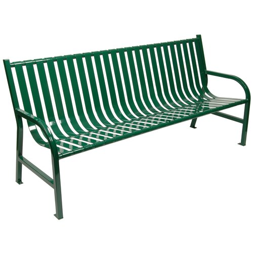 Witt Outdoor Slatted Metal Bench