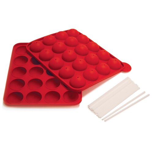 Silicone Cake Pop Pan (Set of 6)