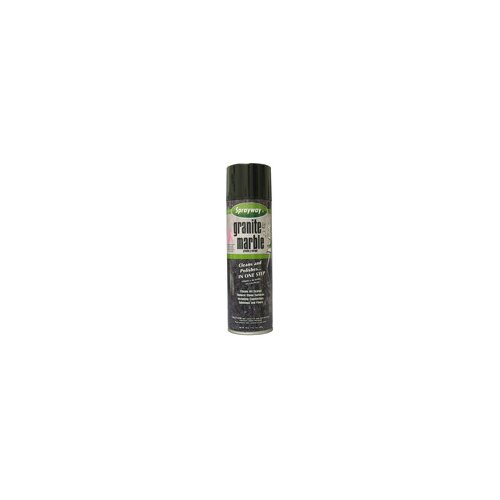 Sprayway 20 Oz Aerosol Granite & Marble Spray