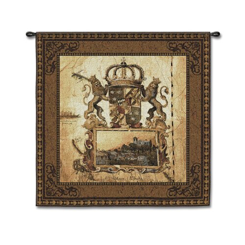 Fine Art Tapestries Classical Terra Nova I by LIz Jardine Tapestry