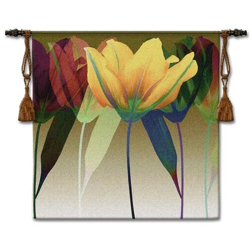 Fine Art Tapestries Tulip BW Tapestry