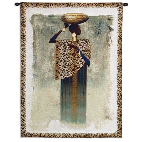 Fine Art Tapestries Worldly Woman Tapestry