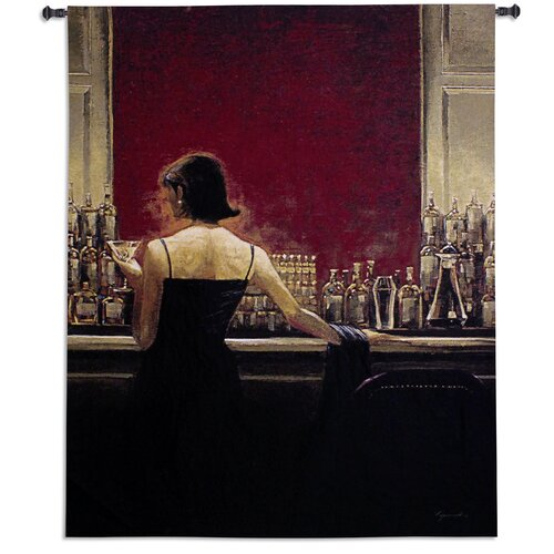 Fine Art Tapestries Evening Lounge by Brent Lynch Tapestry