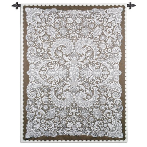 Fine Art Tapestries Venetian Lace by Julianna James Tapestry