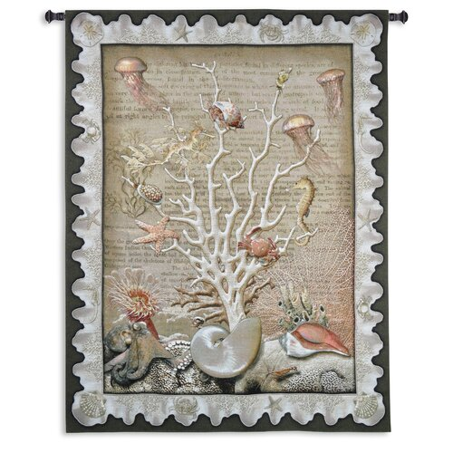 Fine Art Tapestries Sea of Life by Julianna James Tapestry