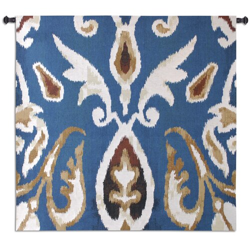 Fine Art Tapestries Ikat Oceana by Sarah Simpson Tapestry