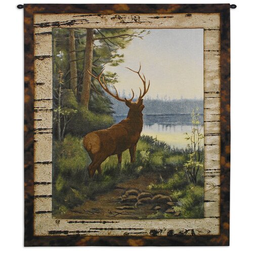 Fine Art Tapestries Elk Tapestry