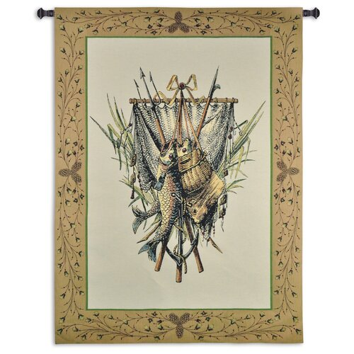 Fine Art Tapestries Fishing Gear Tapestry