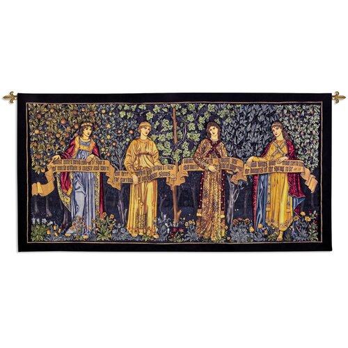 Fine Art Tapestries Orchard by William Morris Tapestry
