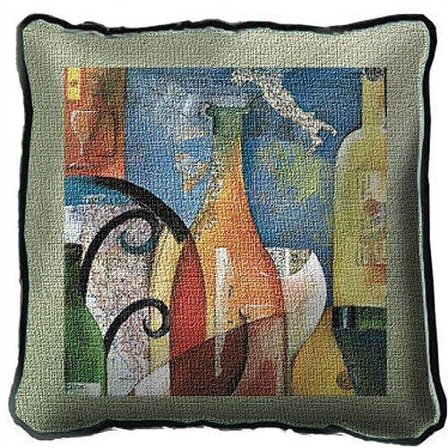 Fine Art Tapestries Vino Pillow