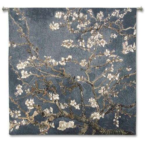 Fine Art Tapestries Abstract Almond Blossom Large by Acorn Studios Tapestry