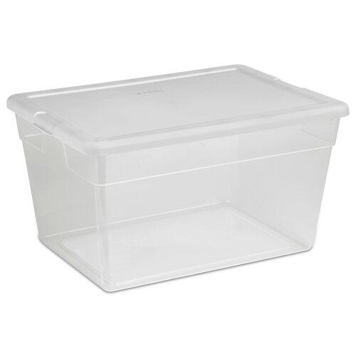 Sterilite 56 Qt. Clear Storage Box