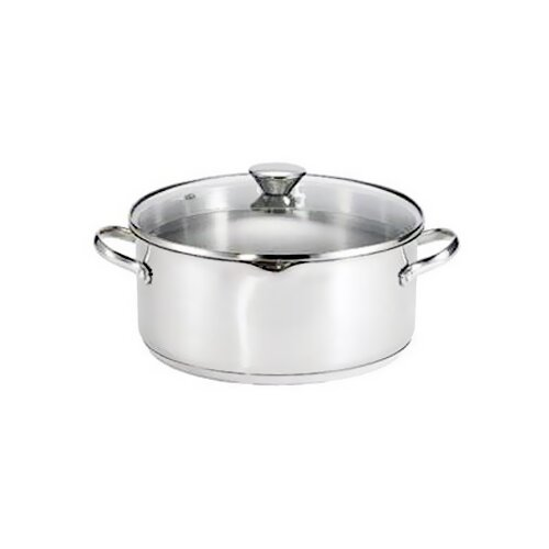 Cook and Strain 5-qt. Round Dutch Oven
